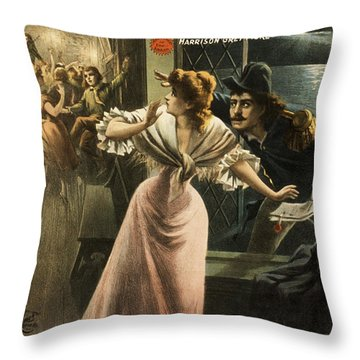 Quick Here Is The Paper Throw Pillow by Aged Pixel