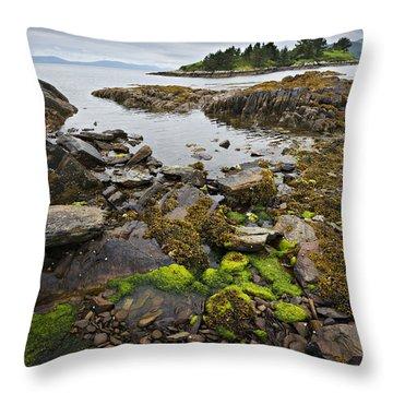 Quiet Bay Throw Pillow