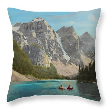 Quiet Day Throw Pillow