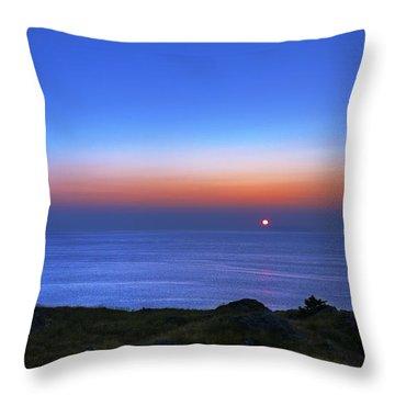 Quiet Morning.. Throw Pillow