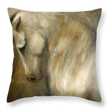 Quiet Strength Throw Pillow