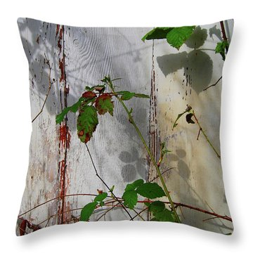 Throw Pillow featuring the photograph Quiet Takeover I by Jani Freimann