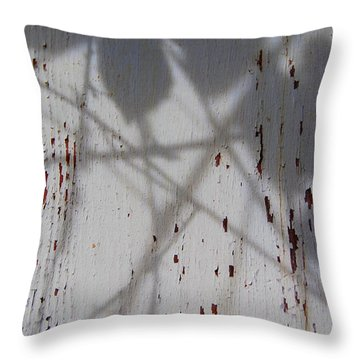 Throw Pillow featuring the photograph Quiet Takeover by Jani Freimann