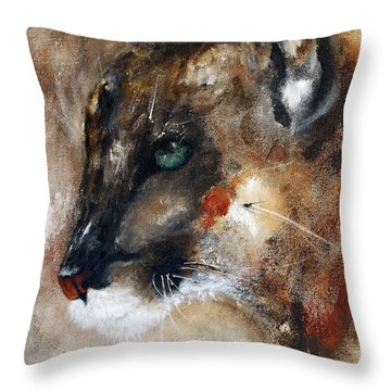 Quiet Thunder Seeker Throw Pillow