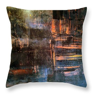 Quilters Of The Flame Throw Pillow