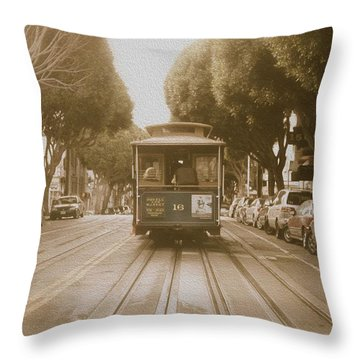 Quintessential San Francisco Throw Pillow