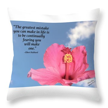 Quotes For The Soul Throw Pillow