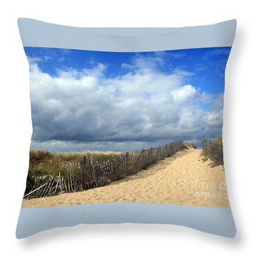 Race Point Throw Pillow