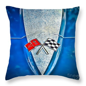 Race To Win Throw Pillow by Colleen Kammerer
