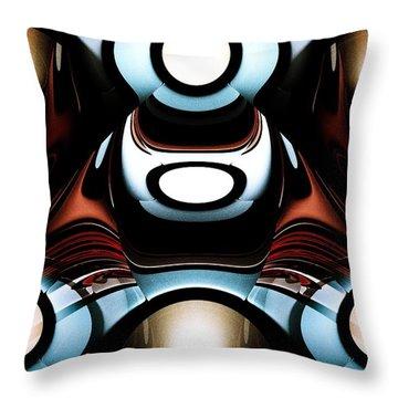 Racer Throw Pillow by Anastasiya Malakhova