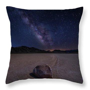 Death Valley Throw Pillows