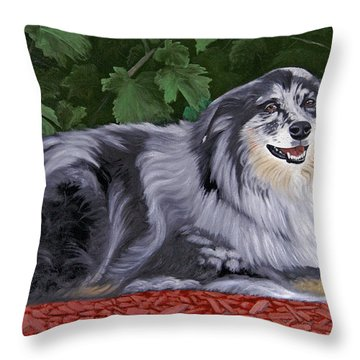 Rachel's Lair Throw Pillow