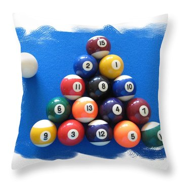 Racked Throw Pillow by Christopher Rowlands