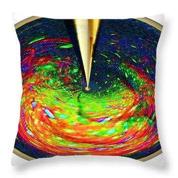 Radar Throw Pillow