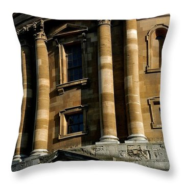Radcliffe Camera Throw Pillow by Joseph Yarbrough