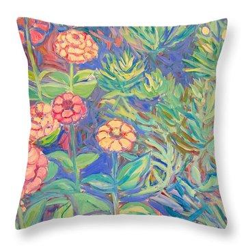 Radford Library Butterfly Garden Throw Pillow