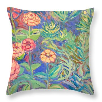 Radford Library Butterfly Garden Throw Pillow