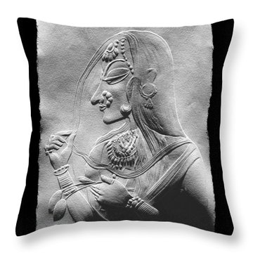 Radha  Throw Pillow