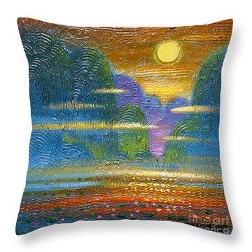 Radiance 2 Throw Pillow