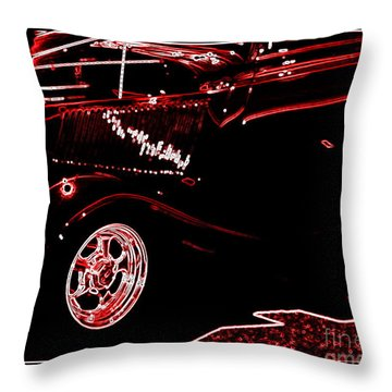 Throw Pillow featuring the digital art Radiance by Bobbee Rickard