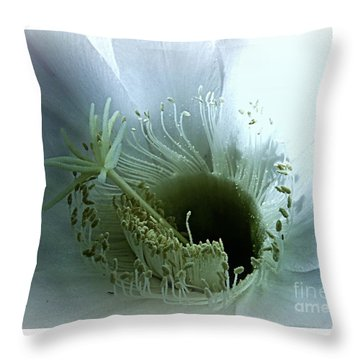 Radiant Being Throw Pillow by Leanne Seymour