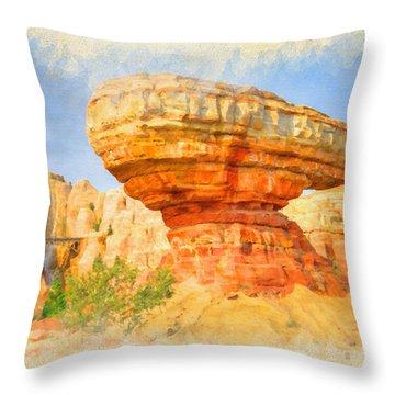 Radiator Springs Throw Pillow