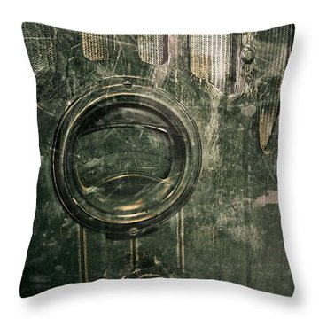 Throw Pillow featuring the photograph Radio Days by Scott Kingery