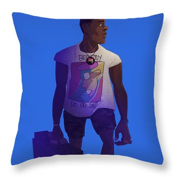Radio Raheem Throw Pillow