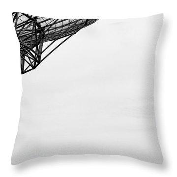 Radiotelescope Antennas.  Throw Pillow