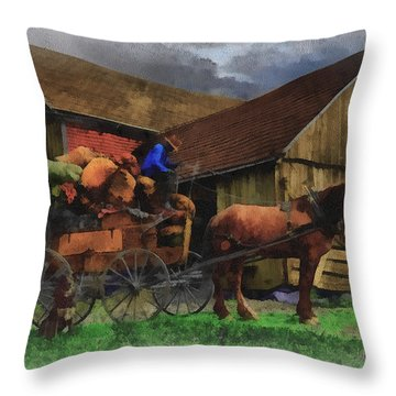 Rag Man Throw Pillow