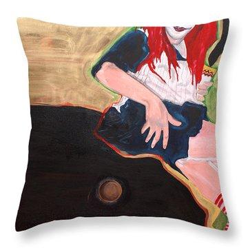 Raggedy Ann Throw Pillow