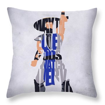 Raiden - Mortal Kombat Throw Pillow by Inspirowl Design