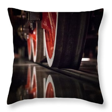 Railway Throw Pillow