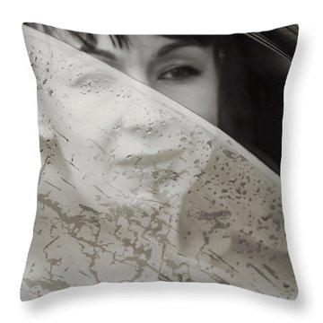 Rain Again Throw Pillow by Svetlana Sewell