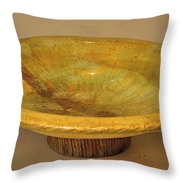 Rain Bowl Throw Pillow