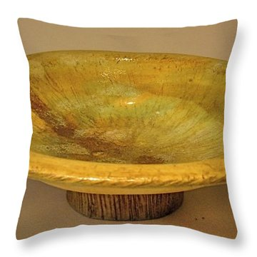Rain Bowl Throw Pillow
