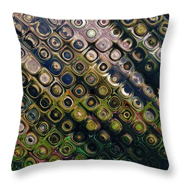 Rain Forest Throw Pillow