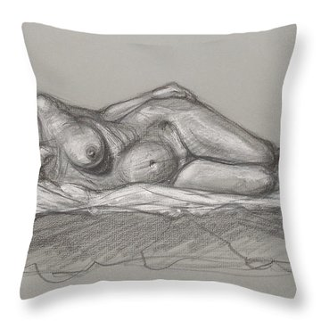 Rain Reclining Throw Pillow