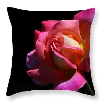 Throw Pillow featuring the photograph Rainbow by Doug Norkum