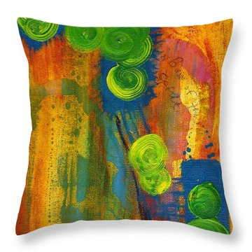 Rainbow Of The Spirit Throw Pillow