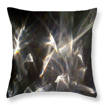 Throw Pillow featuring the photograph Rainbow Pieces by Leena Pekkalainen