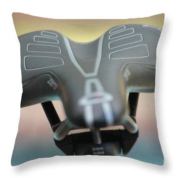 Rainbow Saddle Throw Pillow
