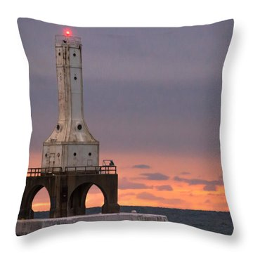 Rainbows Of Color Throw Pillow by James  Meyer