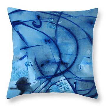 Throw Pillow featuring the photograph Raindrops Part One by Sir Josef - Social Critic - ART