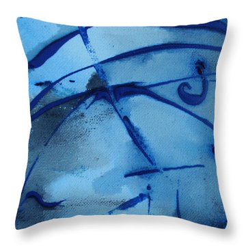 Throw Pillow featuring the photograph Raindrops Part Two by Sir Josef - Social Critic - ART