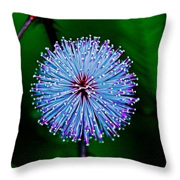 Rainforest Flower Throw Pillow