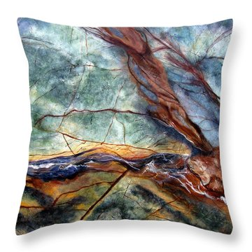 Rainforest I Throw Pillow