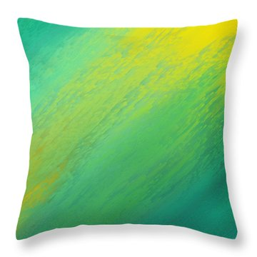 Raining Sunshine - Meteorologist - Meteorology Throw Pillow by Andee Design