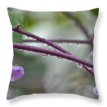 Rainy Day 3 Throw Pillow