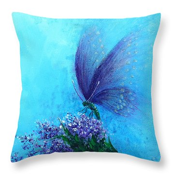 Raised In Glory 2 Throw Pillow by Kume Bryant